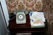Living Room Scene (Telephone), October 2005