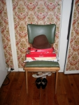 Living Room Scene (Hat), March 2005