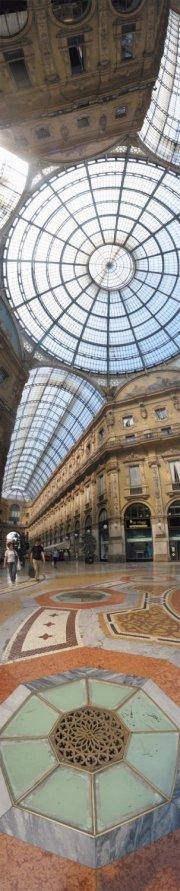 01 Ari Salomon, Milan, Galleria Corso Vittorio Emmanuele, 2003, Pigment Print, 21x73, 1of5, UNFRAMED $800