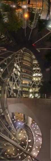 Ari Salomon,Tokyo, Mode Gakuen Cocoon Tower 2 26x79