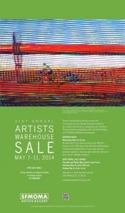 Twenty-First Annual Artists Warehouse Sale